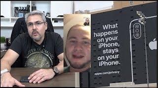 Apple se le fue la privacidad de las manos