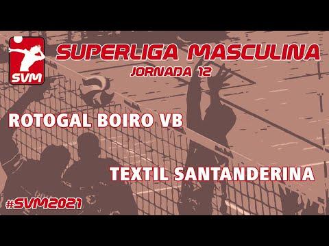 Rotogal Boiro Voleibol vs Textil Santanderina