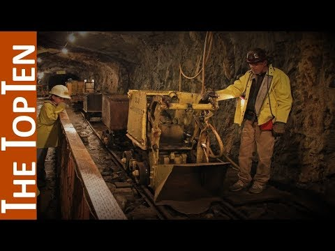 The Top Ten Biggest Gold Mines in the World