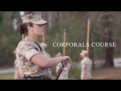 US Marine Corps – Corporals Course Training