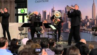 A Blast of Brass from New York - The New York Philharmonic Principal Brass Quintet