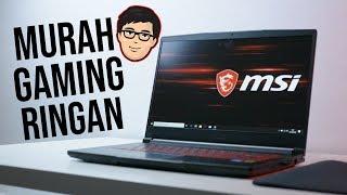 Laptop Gaming TERMURAH Yang Paling RINGAN ? - MSI GF63 9RCX Review Indonesia