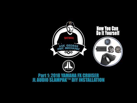 "jl-audio-slampak™-2013-up-yamaha-fx-diy-install-""ask-george-the-pwc-mechanic""-ep-10"