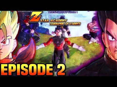 [DBXV2 ROLEPLAY] Z-Star Academy Tournament of Students-Episode 2 Battle of poison Vegeku vs Calvin