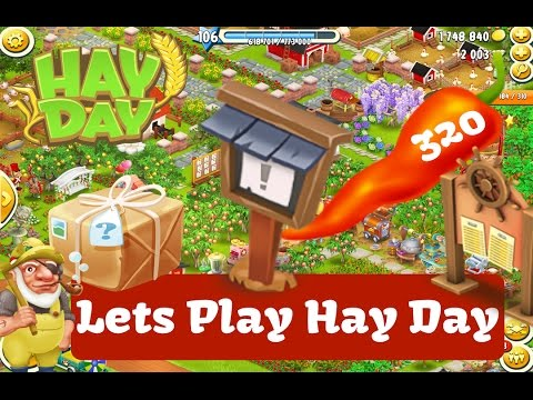 Hay Day - Lets Play Hay Day - Derby, Gift Cards, Town, Boat and More