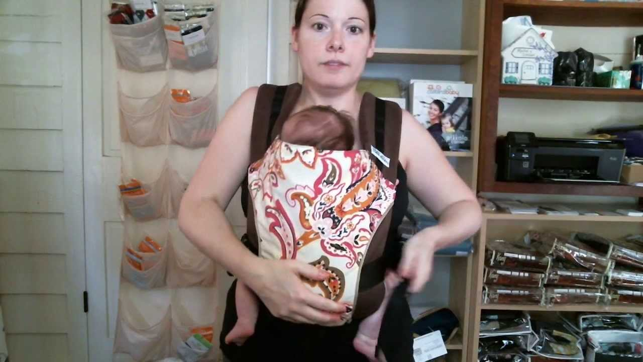 Adjusting The Length Of A Catbird Baby Pikkolo Carrier