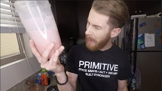 HOW TO MAKE A PINK DRINK!