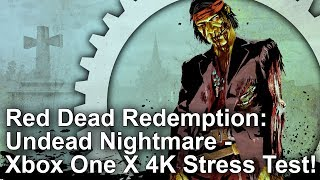 [4K] Red Dead Redemption: Undead Nightmare - Xbox One X Delivers Again!
