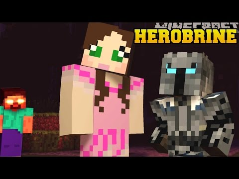 Minecraft: HEROBRINE (THERE IS NO ESCAPE!) Mod Showcase