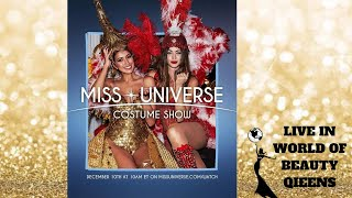 Miss Universe 2018 National Costume (LIVE)