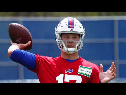 How did Josh Allen look at Buffalo Bills OTAs?