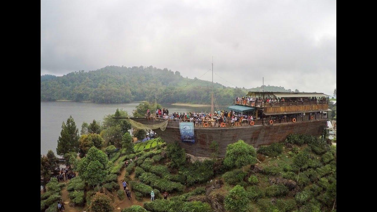 Liputan Wisata Glamping Lake Side Ciwidey Rancabali Aerial