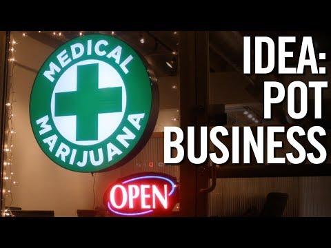 BUSINESS IDEAS FOR 2018 💰 3 Legal Pot & Marijuana Business Ideas!