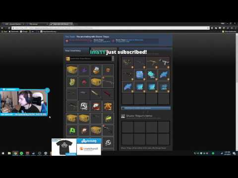 SHROUD GIVES HIS SUB 1000$ IN SKINS!?