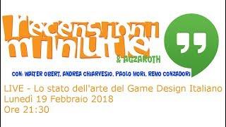 Recensioni Minute Hangout [012] - Lo stato dell'arte del Gioco da Tavolo in Italia