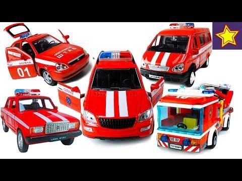 Про пожарные машинки