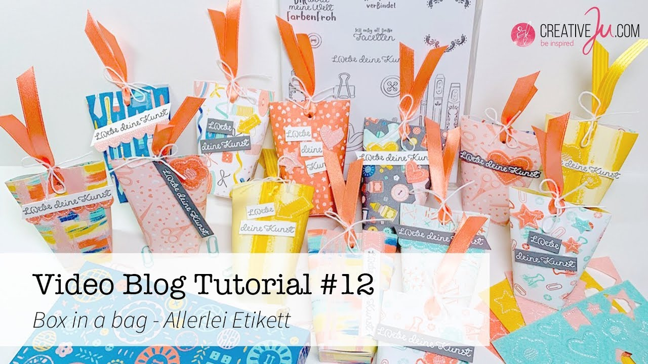 Video Blog Tutorial #12 -  Box in a bag