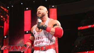 Ryback speaks out about his past: Raw, December 29, 2014