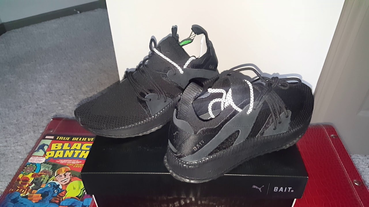 f37d2ce85352 BLACK PANTHER PUMA TSUGI (BLAZE OF GLORY)!!! LIMITED RELEASE!!! ONLY 300  PAIRS WORLDWIDE!!! (PART 1)