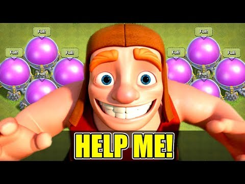 Thumbnail: I CANT SPEND MY LOOT!! - Clash Of Clans - TIME FOR A GEM SPREE!?