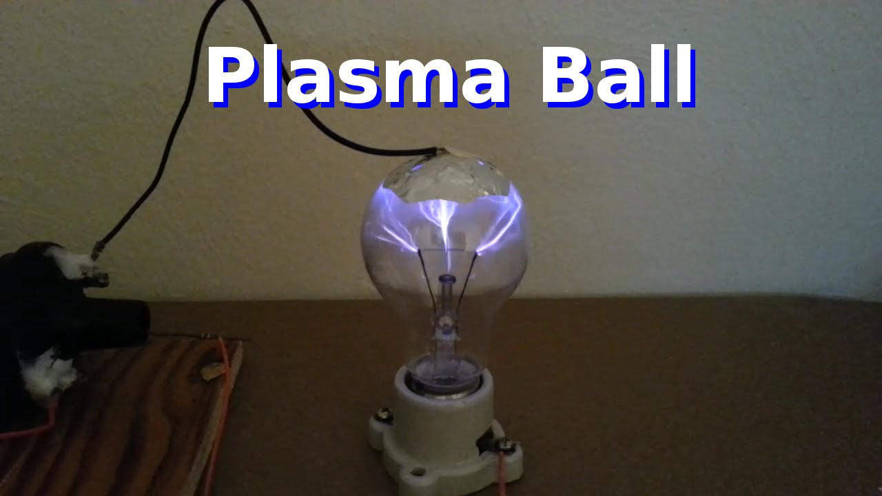 Plasma lamp - how to make it