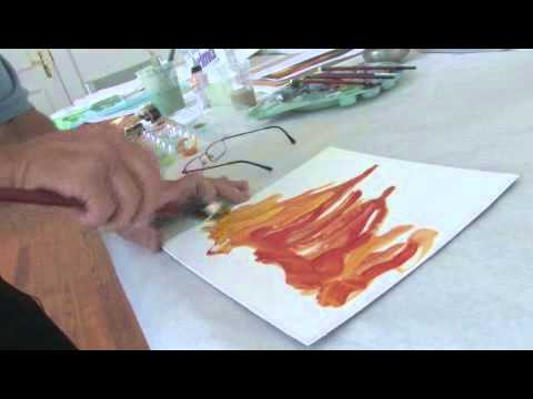 How To Paint Fire With Acrylics