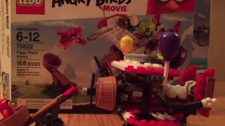 Lego The Angry Birds Movie Piggy Plane Attack Review 75822