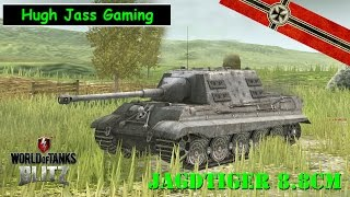World Of Tanks Blitz - Jagdtiger 8.8cm Tier 8 Premium German Tank Destroyer.