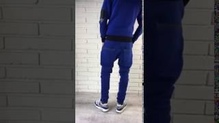 видео Белые спортивные брюки