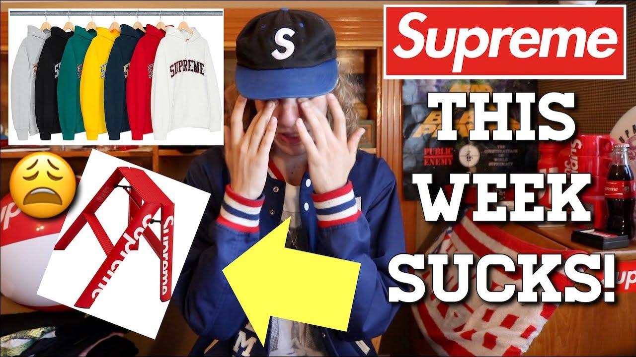 b689a09c848 This Week SUCKS! Supreme F W  18 Week 2 Drop Review - YouTube
