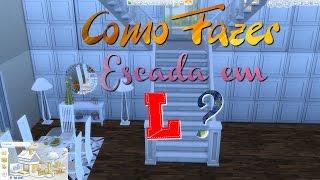 Como fazer escada em L e Y - The Sims 4