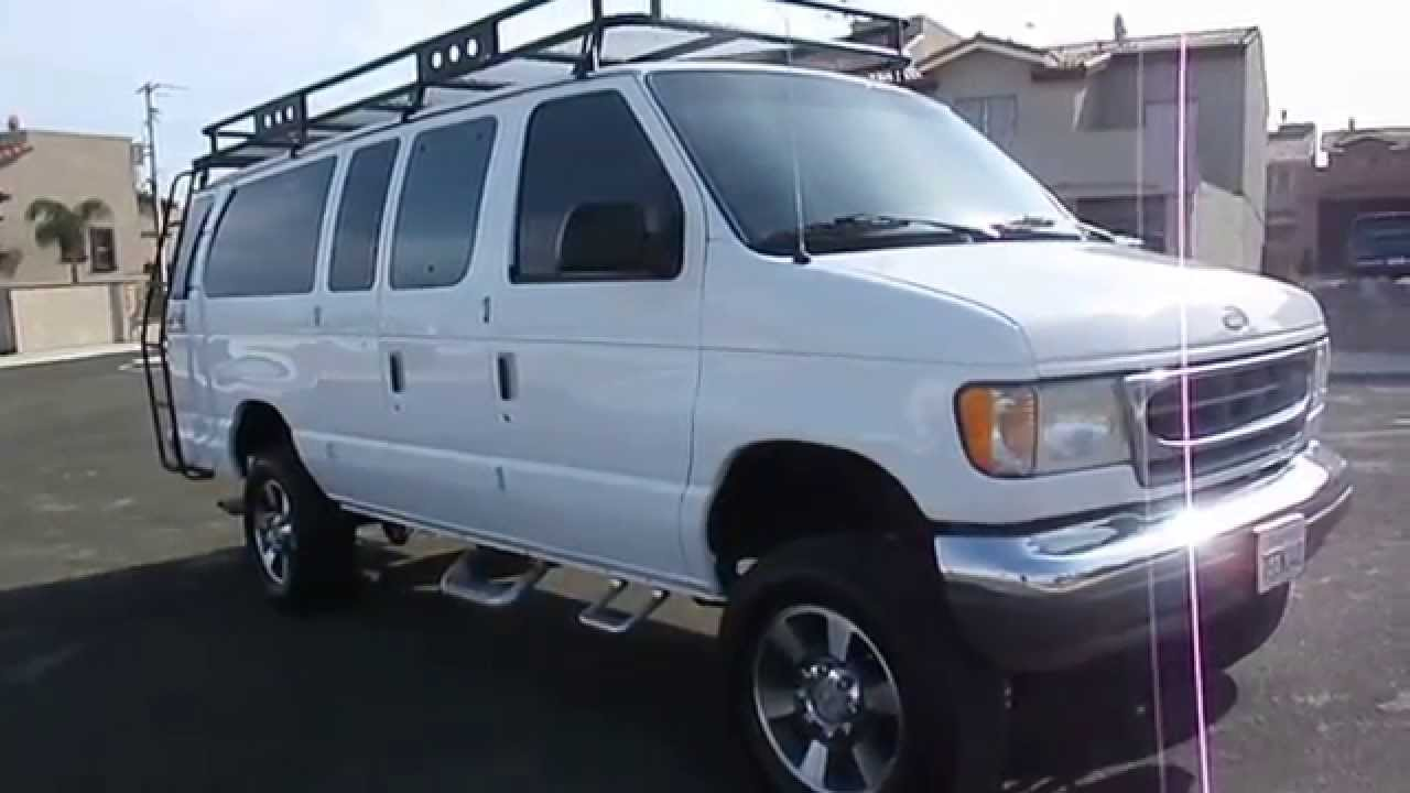 2000 ford e 350 diesel van 4x4 youtube. Black Bedroom Furniture Sets. Home Design Ideas