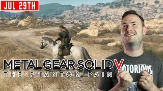 Sips Plays Metal Gear Solid V: The Phantom Pain - (29/7/20)