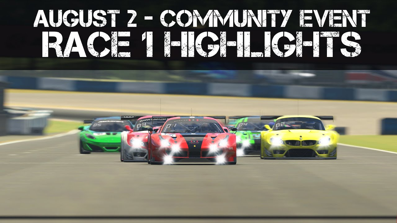 OUR FIRST COMMUNITY RACE! – Okayama GT3 Highlights – YouTube