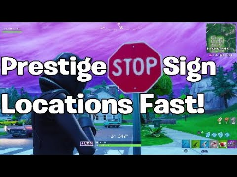 Destroy STOP Signs with Catalyst Outfit - Easy PRESTIGE ...
