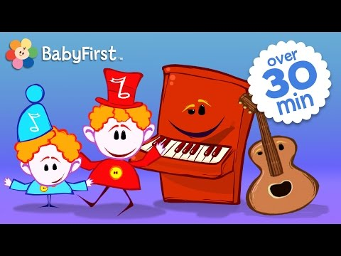 Musical Instruments for Kids | Drum, Piano, Guitar and More with the Notekins by BabyFirst