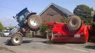 The BEST And Funny Tractor Fails Caught On Camera Compilation 2017 Collection