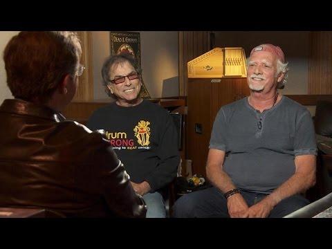 The Grateful Dead's Mickey Hart and Bill Kreutzmann