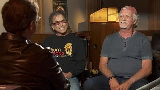 The Grateful Dead's Mickey Hart and Bill Kreutzmann