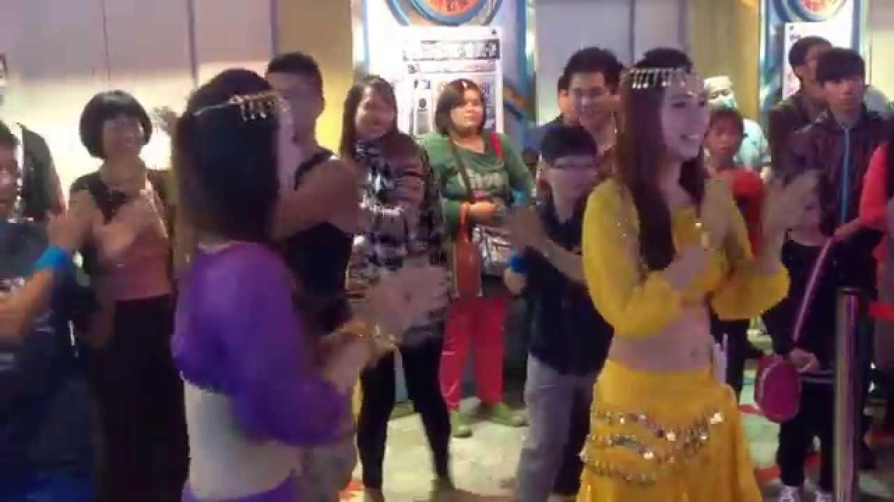 高雄大立湯姆熊玩家群舞 印度神曲 - YouTube