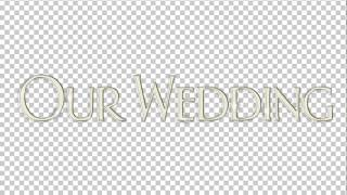 Свадебная надпись 5.1(англ яз)