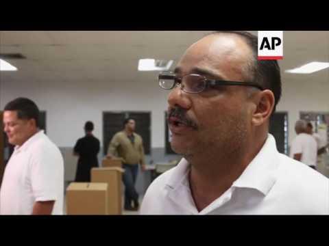 Puerto Rico inmates vote for Sunday's primary