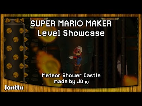 Super Mario Maker - Meteor Shower Castle