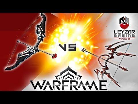 Dread VS Rakta Cernos (Comparison) - The Best Bow (Warframe Gameplay)