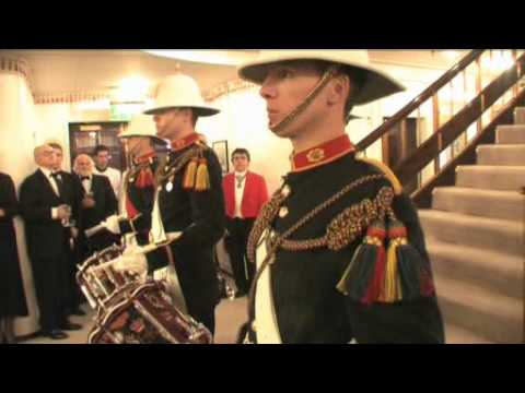 Evening events aboard The Royal Yacht Britannia