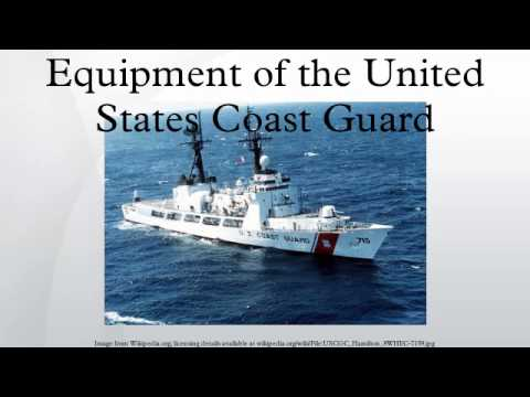 Equipment of the United States Coast Guard