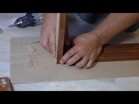 Как правильно собрать коробку для двери