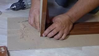 Как собрать дверную коробку своими руками