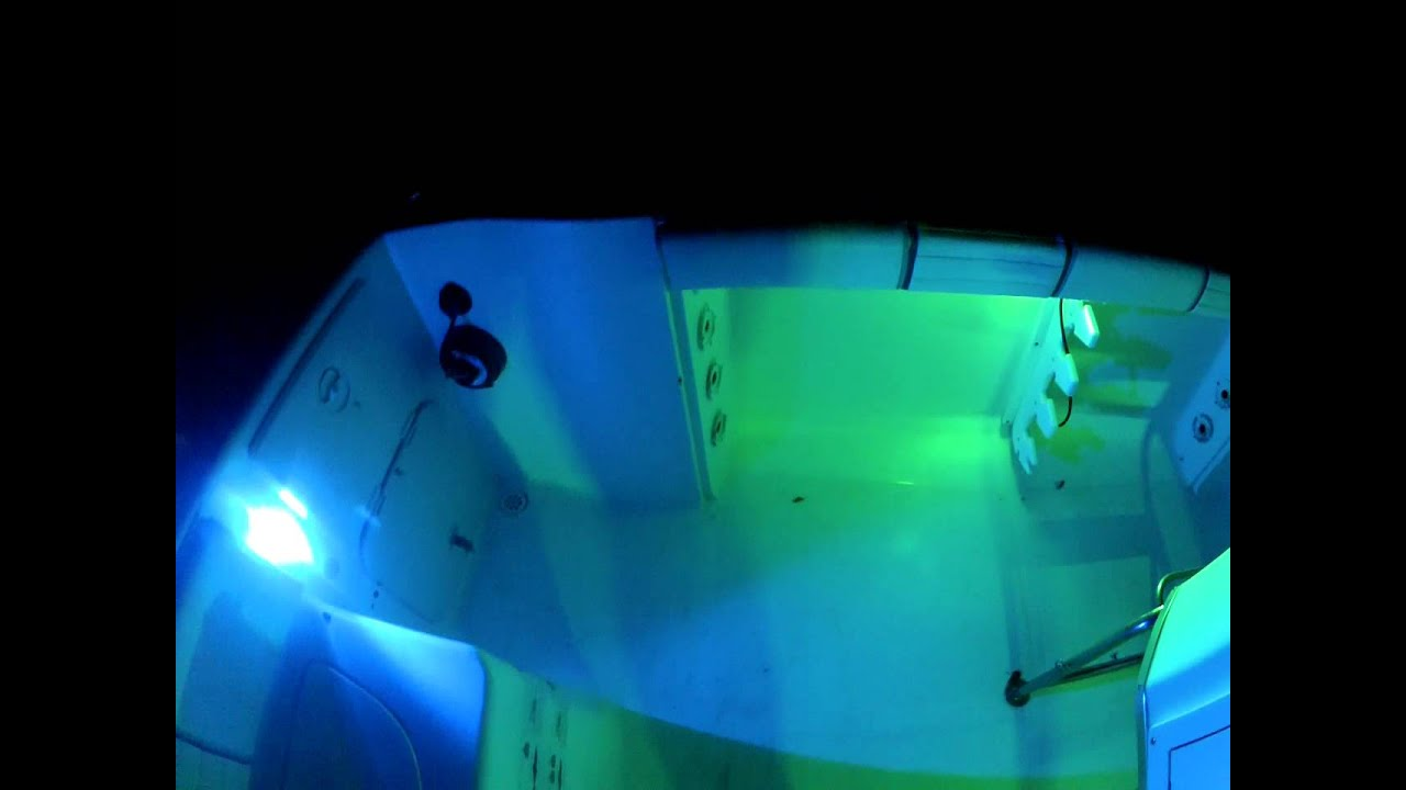 underwater .. led lights . that are really bright and, Reel Combo