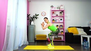 Силовая тренировка для сжигания жира Упражнения для похудения дома Фитнес занятия онлайн